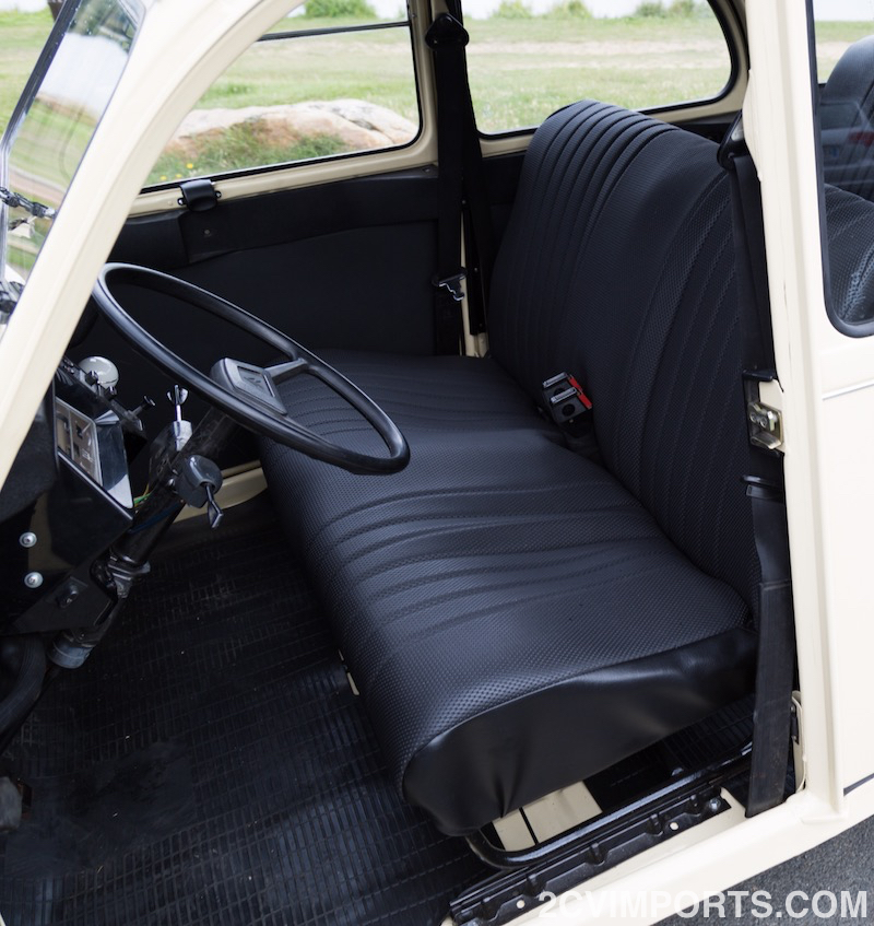 Fully-Restored Beige 2cv with Galvanized Chassis - Photo #10 - For Sale in the USA