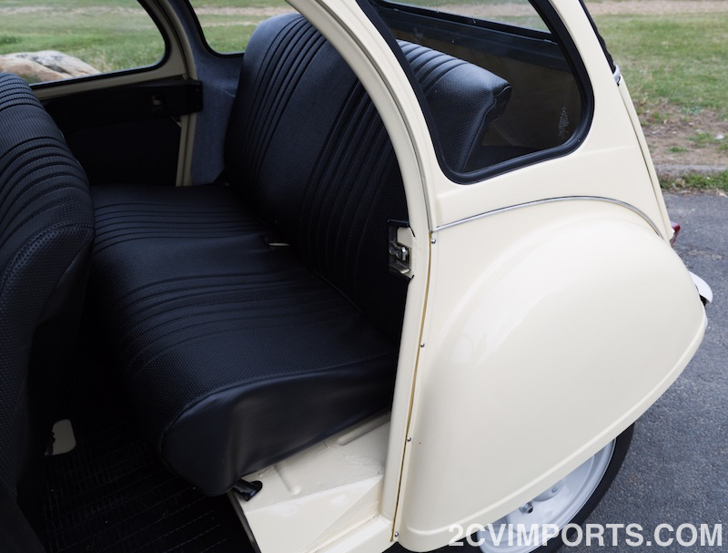 Fully-Restored Beige 2cv with Galvanized Chassis - Photo #11 - For Sale in the USA