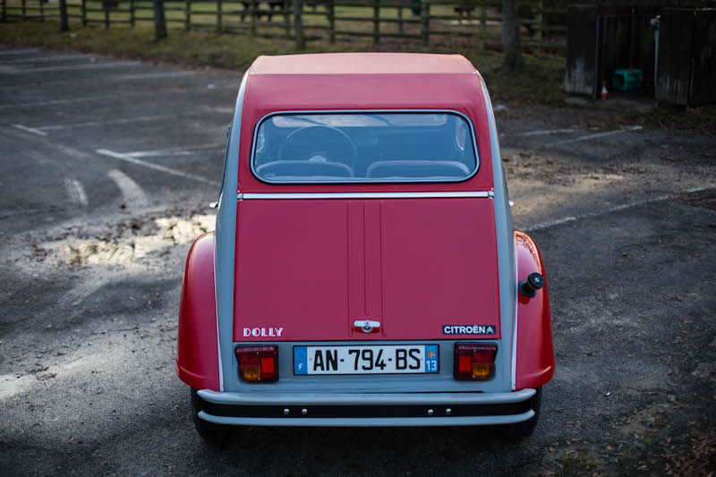 Fully-Restored Red/Gray Citroen 2cv Dolly - Photo #3 - For Sale in the USA